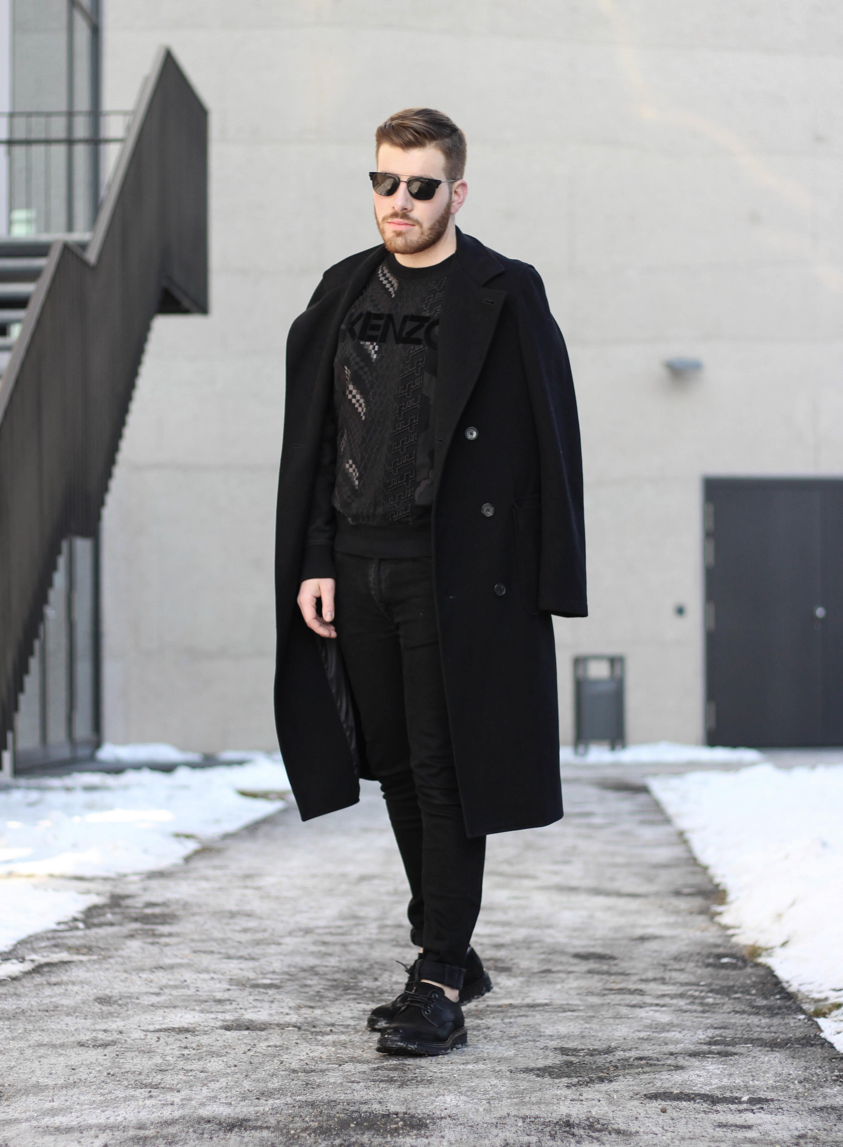 kenzo black sweater